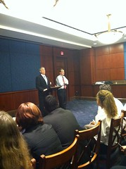 Mark Udall introduces Senator Bennet at the Colorado Capital Conference