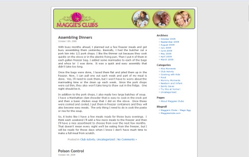 Maggie's Clubs Blog