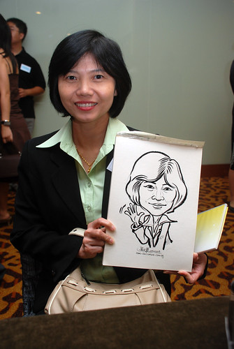 Caricature live sketching for Rheen Manufacturing Company (Singapore) Pte Ltd  - 5