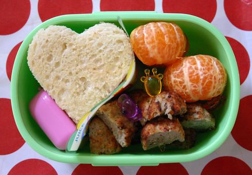 Kindergarten Bento #253: October 27, 2009