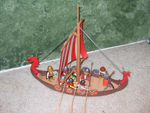 Hot Rod's Playmobile Viking Set