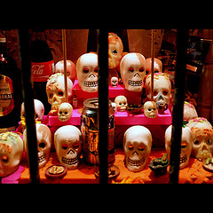 ... on the day of the dead ... (uteart) Tags: dayofthedead mexico altar diadelosmuertos sugarskulls tms tellmeastory laofrenda utehagen uteart theauthorsplaza
