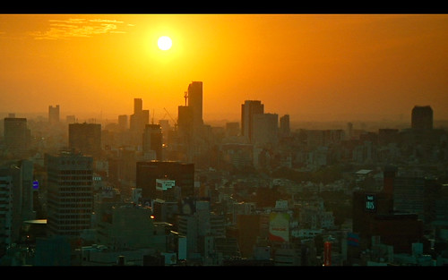 sunset at Roppongi1