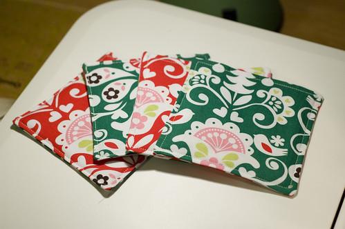 Christmas coasters 3