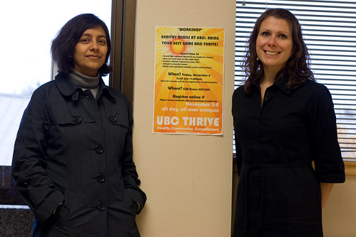 UBC THRIVE - Vanita Sabharwal - UBC Counselling Services & Kaycie Hebert - Student Financial Assistance & Awards