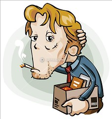 Jobless (Aragga) Tags: loss businessman drunk work office sad smoke cartoon bad competition icon business pack lazy distributed perform misery pressure stress job vacancy vector employee jobless bore bankrupt recession isyndica