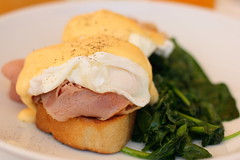 Eggs benedict (Winam) Tags: food nsw pyrmont