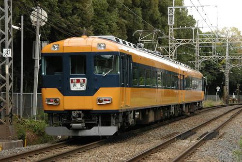 Kintetsu16010series in Kashiharajingu-mae〜Kashiharajingu-nishiguchi,Kashihara,Nara,Japan 2009/11/15 part2