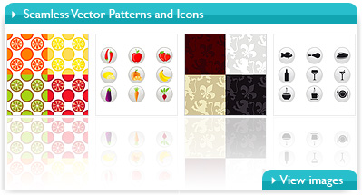 Seamless Vector Patterns and Icons By Bibidesign