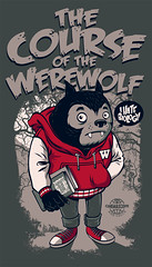 The Course Of The Werewolf (RUbensSCarelli) Tags: school moon werewolf forest book wolf course full teen colegio teenager lobo wolfman curse lobisomem
