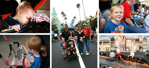 hollywood studios collage