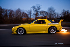 Pats FC Flames1 (Joe Dantone) Tags: pictures photography photo photographer image photos flames picture joe turbo flush mazda fc rx7 exhaust hella imagery drift rttuning driftalliance hellaflush dantone joedantone