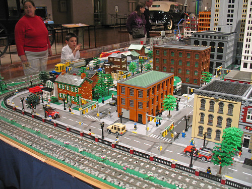 Lego City And Train Layout At The Henry Ford Museum A