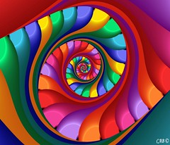 Archimedes Spiral (antarctica246) Tags: art geometric motif colors digital spiral graphicdesign shiny soft dynamic graphic sandiego originalart unique oneofakind sharp hires math formula fractal educational rainbows psychedelic visual wispy colorscheme uf nowpublic eyecandy digitalimage detailed feathery chaospro distinctive edgy evocative mathart fractalart ultrafractal mathematicalart graphicelement sandiegoartist antarctica246 fractalartist digitaleyecandy courbespolaires upbeathappy visualmotif distinctivemotif visualsignpost artsoul4u technicolorvisions mathmeticalimagery