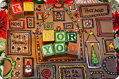 Coming Soon to a Mailbox Near YOU? (eklektick) Tags: christmas frames mail painted envelope marker foryou snailmail eklektick christmascountdown2009