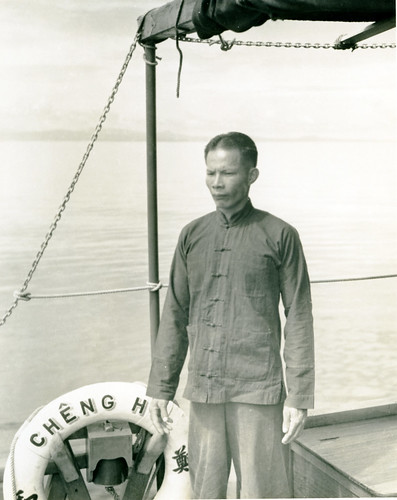 Han, a member of the Cheng Ho crew