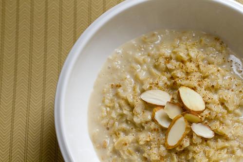 Vanilla Almond Oatmeal 2