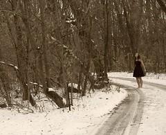 Wonder. (Allison Imagining) Tags: forest wonder kathleen herfreakingawesomedriveway andidiothereisbarefootp