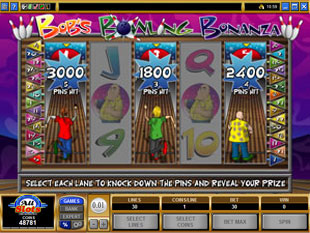 free Bob's Bowling Bonanza bonus game