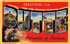 Greetings from Butte, Metropolis of Montana - Large Letter Postcard (Shook Photos) Tags: montana butte postcard metropolis greetings linenpostcard bigletter largeletter largeletterpostcard linenpostcards largeletterpostcards bigletterpostcard bigletterpostcards