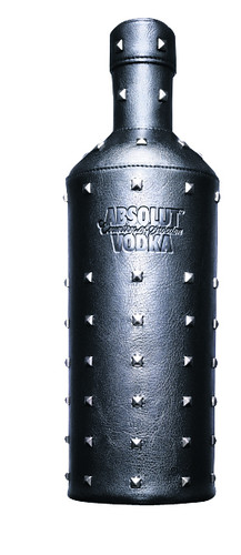 Absolut in Leder
