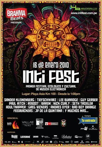 Inti Fest - Playa Asia