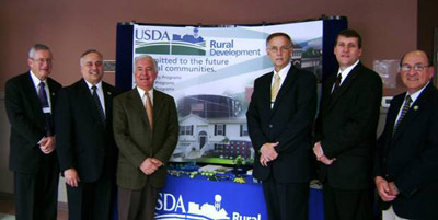 Officials at the January 7 West Virginia Job Forum