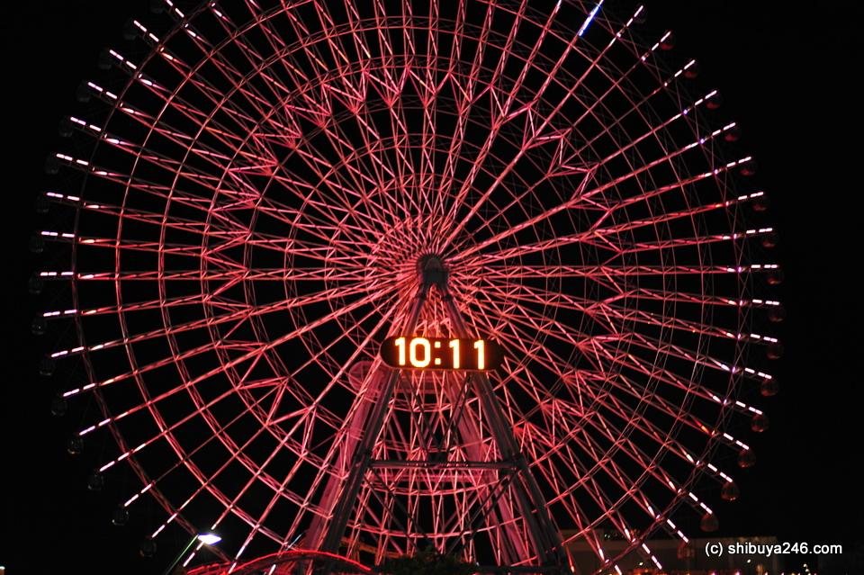Ferris Wheel at Minato Mirai.
