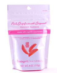 Bissingers Gummi Pandas Grapefruit Bag