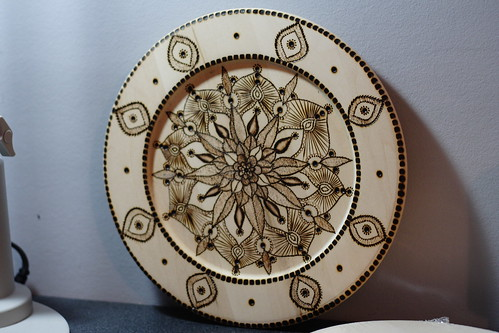 Mandala plates10012