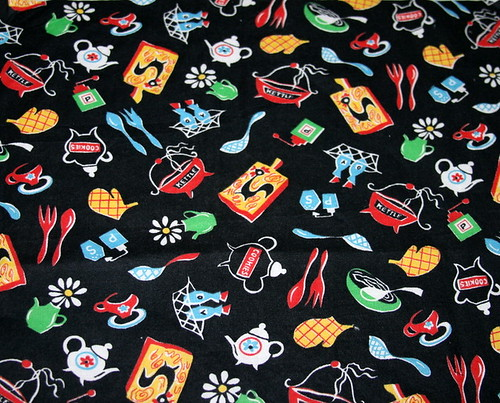 My vintage kitchen fabric