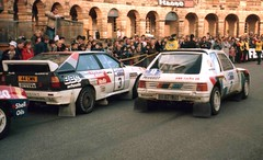 RAC Rally 1984 Buxton (woodytyke) Tags: world uk england english sport photography hotel michael photo gm buxton britain derbyshire united rally jimmy group kingdom crescent turbo 400 terry 1984 scanned hertz british arne 16 nicholson audi a2 isles manta fia peugeot rac ari mcrae opel 205 quattro groupb rallying hannu gruppeb harryman mikkola vatanen woodytyke dealersport