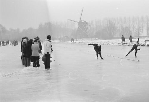Schaatswedstrijd / Skating race