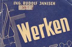 Buchcover, Rudolf Janisch, Werken - aber richtig