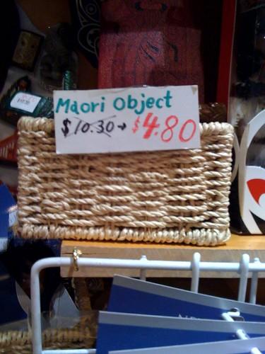 maori object