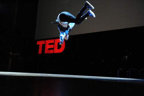 Dance at TED with LXD