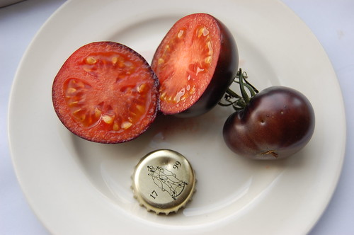 OSU Blue Fruit tomato