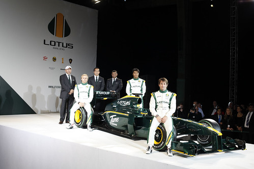 Lotus Racing T127 Launch