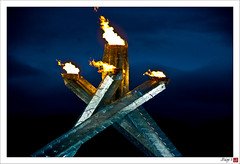 Day 44 - Olympic Flame