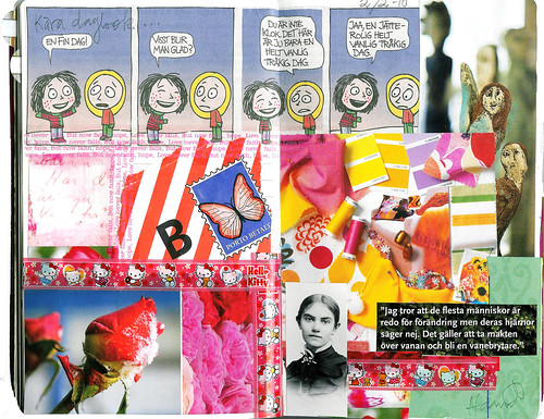 Diary collages February 2010