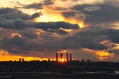 (Noe_BC) Tags: madrid sunset espaa skyline atardecer spain nikon europa europe puestadesol d90