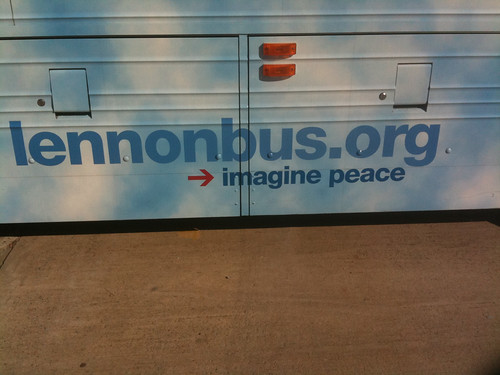 lennonbus.org - imagine peace