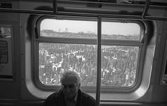 (davidteter) Tags: newyorkcity man film brooklyn train subway washingtoncemetery olympusstylusdlx stream:timeline=linear aristapremium400