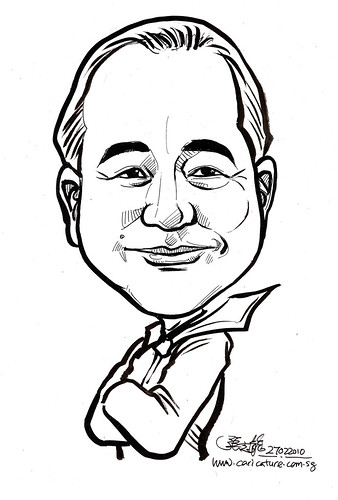 Caricature for K C Dat - Jeffrey Lim