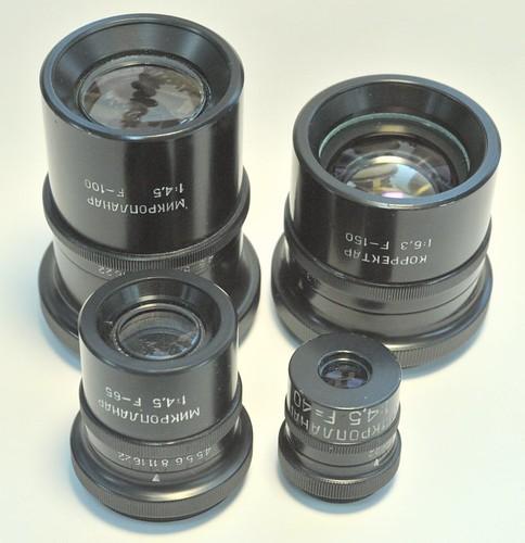 LOMO Macro lenses