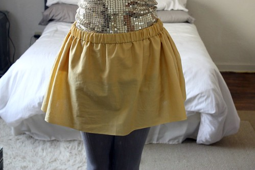 Simple Elastic Skirt