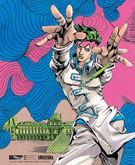 100222(2) – 漫畫家「荒木飛呂彥」完整123頁全彩大作『Rohan at the Louvre 羅浮宮的岸辺露伴』將從3/19公開連載 (2/2)