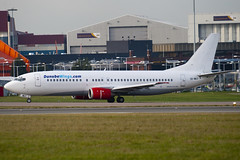 OK-WGY - 25839 - Danube Wings - Boeing 737-436 - Luton - 091201 - Steven Gray - IMG_4751