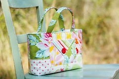 Nicey Jane Charm Tote (naturemomm) Tags: jane charm patchwork tote nicey heatherbailey niceyjane