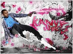 Kanye West (edusco) Tags: pink light music west hip hop blend kanye